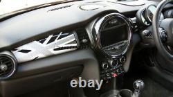 MK3 MINI Cooper/S/ONE F55 F56 F57 WHITE Union Jack Dashboard Panel Cover for RHD