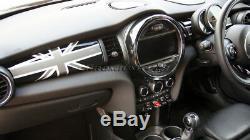 MK3 MINI Cooper/S/ONE/JCW F55 F56 F57 BLACK Union Jack Dashboard Panel Cover