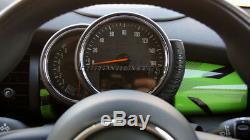 MK3 MINI Cooper/S/ONE/JCW F55 F56 F57 GREEN Union Jack Dashboard Panel Cover LHD