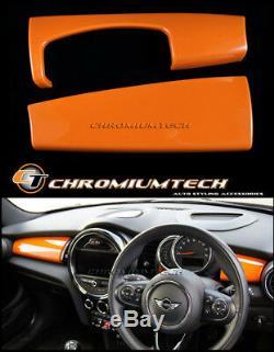 MK3 MINI Cooper/S/ONE/JCW F55 F56 F57 ORANGE Dashboard Panel Cover for LHD model