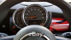 MK3 MINI Cooper/S/ONE/JCW F55 F56 F57 RED Union Jack Dashboard Panel Cover
