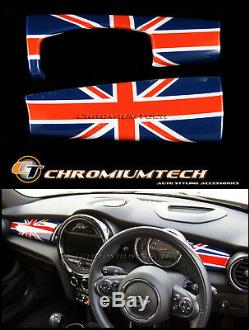MK3 MINI Cooper/S/ONE/JCW F55 F56 F57 Union Jack Dashboard Panel Trim Cover LHD