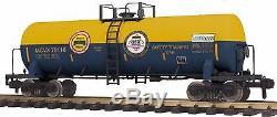 MTH 70-73056, G Gauge RailKing One Gauge Unibody Tank Car CSX