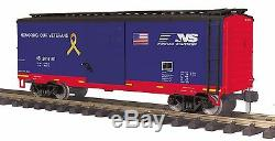 MTH 70-74093, G Scale / One Gauge, 40' Box Car Norfolk Southern (Veterans)