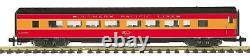 MTH G Scale One Gauge Southern Pacific 70-67034 ribbed streamlined new in box