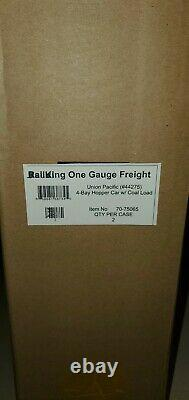 MTH G Scale One Gauge Union Pacific Coal Load car usa aristo accucraft lgb