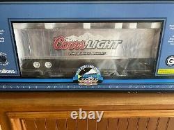 MTH One Gauge Coors Light Trailer on Flat Car NIB