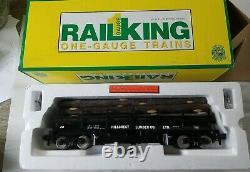 MTH Rail King 70-79003 Hillcrest Lumber Operating Flat Car NEW G / One Gauge