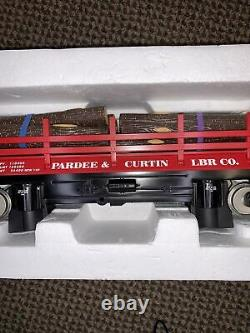 MTH Rail King 70-79006 Pardee & Curtain Operating Flat Car NEW G / One Gauge