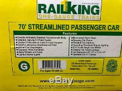 MTH Railking One-Gauge Union Pacific Daylight Observation Car 1/32 G scale UP