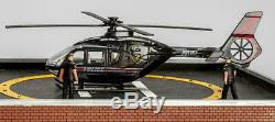 Menards O Gauge ONE POLICE PLAZA Building with Animated Helicopter prebuilt