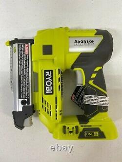 NEW Ryobi P318 18-Volt ONE+ AirStrike 23-Gauge Cordless Nailer (Tool Only) (GC)