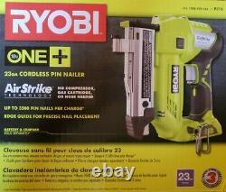 NEW Ryobi P318 18-Volt ONE+ AirStrike 23-Gauge Cordless Pin Nailer (Tool Only)