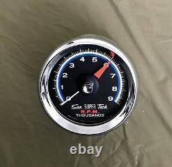 NOS Sun Super Tachometer NC-5 chrome mounting cup NIB One only. Fits SST series