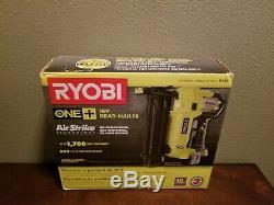 New RYOBI P320 18V ONE+ Cordless AirStrike 18-Gauge Brad Nailer TOOL ONLY OFFER