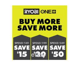 New Ryobi Cordless 18-Volt ONE+ AirStrike 18-Gauge Brad Nailer Gun (Tool Only)