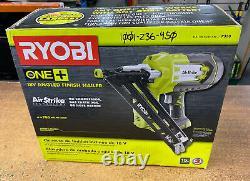 New Ryobi ONE+ P330 Airstrike 18V 15-Gauge Angled Finish Nailer (Tool Only) NEW