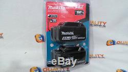 New Two (2) Makita BL1850B 18V LXT Li-Ion Battery 5.0Ah with Fuel Gauge One pair