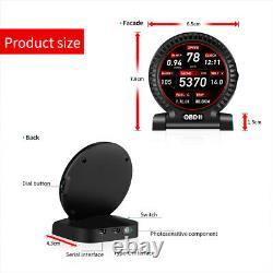 OBD2 Car HUD Head-Up Display Speedmeter Voltmeter Digital Multi Function Gauge
