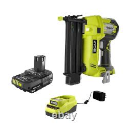 ONE+ 18V Cordless Airstrike 18-Gauge Brad Nailer with Compact Battery & Charger