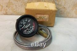 ONE NOS GENUINE ROVER 52mm DUAL OIL WATER TEMP GAUGE LANDROVER Series # 600895