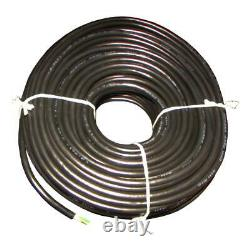 One 100' Long 14 Gauge 4 Wire Round Trailer Light Cable Wiring Harness