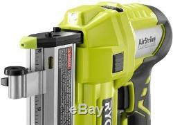 RYOBI 18-Volt ONE+ AirStrike 23-Gauge Cordless Pin Nailer Air Tool LED Light New