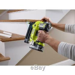 RYOBI 18-Volt ONE+ Cordless AirStrike 18-Gauge Brad Nailer (Tool Only) with