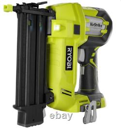 RYOBI 18-Volt ONE+ Cordless AirStrike 18-Gauge Brad Nailer with Clip (Tool Only)