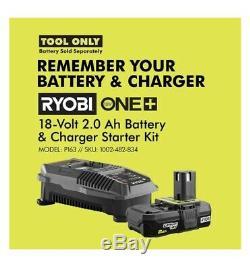 RYOBI 18-Volt ONE+ Lithium-Ion Cordless AirStrike 16-Gauge Cordless Straight