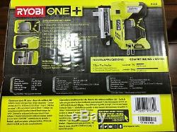 RYOBI ONE+ 18v VOLT P318 23 GAUGE CORDLESS PIN NAILER BARE TOOL ONLY