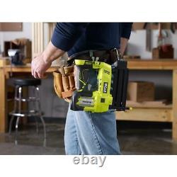 RYOBI ONE+ Cordless AirStrike 18-Gauge Brad Nailer with Sample Nails (Tool Only)