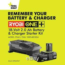RYOBI ONE+ Straight Finish Nailer 18Volt AirStrike 16-Gauge Cordless (Tool Only)
