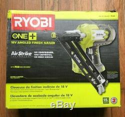 RYOBI One+ 18V Cordless 15 Gauge Angled Finish Nailer P330
