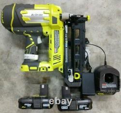 RYOBI One+ 18V Cordless 16 Gauge Finish Nailer Kit Model# P325