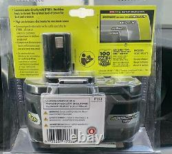 RYOBI P193 One+ 18 V 6Ah Extended Capacity Battery with Onboard Fuel Gauge