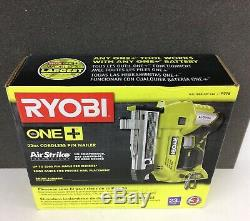 RYOBI P318 18V ONE+ Cordless AirStrike 23-Gauge 1-3/8 Headless Pin Nailer NEW
