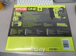 RYOBI P320 18-Volt ONE+ Cordless AirStrike 18-Gauge Brad Nailer Bare Tool New