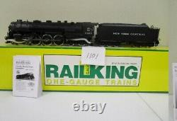 Rail King 70-3001-1 J-3a Hudson & tender withproto-sound 2.0 for G Gauge/One Gauge