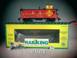 Rail King One -gauge Trains 70-77019 Santa Fe Caboose O. B. C-8