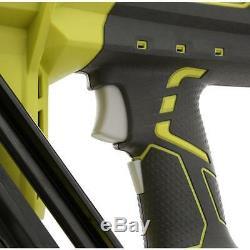 Ryobi 15-Gauge Angled Finish Nailer 750 Nails/Charge 18-Volt ONE+ Air Gun