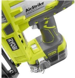 Ryobi 18-Volt ONE+ AirStrike Nail Gun 16-Gauge Cordless Straight Air Nailer Tool