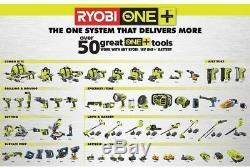 Ryobi 18-Volt Stapler Nail Gun Air Nailer ONE+18-Gauge Cordless Bare Tool Only