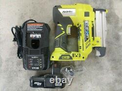 Ryobi 18V ONE+ 23 Gauge Pin Nailer Kit Model# P318