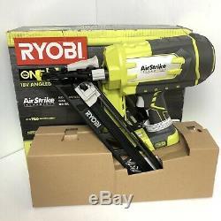 Ryobi ONE+ Airstrike 18V 15-Gauge Angled Finish Nailer (Tool Only)