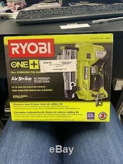 Ryobi P318 18-Volt ONE+ AirStrike 23-Gauge Cordless Nailer 160130