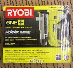 Ryobi P318 18-Volt ONE+ AirStrike 23-Gauge Cordless Nailer 160360