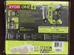 Ryobi P318 18-Volt ONE+ AirStrike 23-Gauge Cordless Pin Nailer 160360 18v