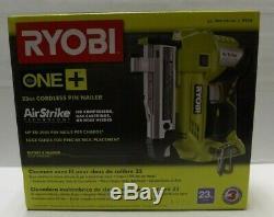 Ryobi P318 18-Volt ONE+ AirStrike 23-Gauge Cordless Pin Nailer Gun BRAND NEW