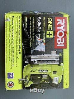 Ryobi P318 18-Volt ONE+ AirStrike 23-Gauge Cordless Pin Nailer Gun Tool Only